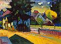 Vassily Kandinsky, 1908 - View of Murnau.jpg