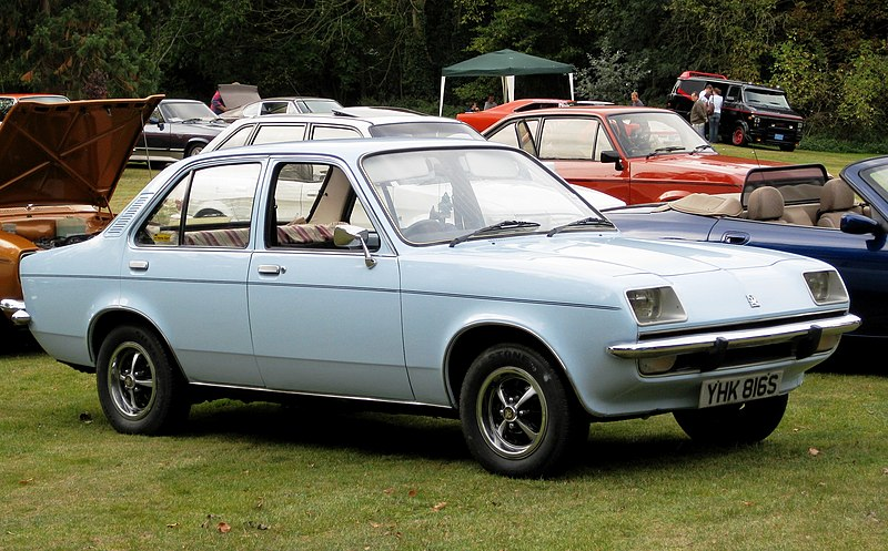 Plik:Vauxhall Chevette 4 d first registered 31 March 1978 1256cc.JPG