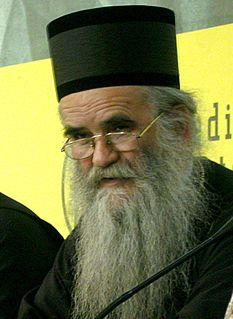 Amfilohije Radović Montenegrin metropolitan