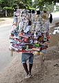 Vendor Bearing Wares - Oyster Bay District - Dar es Salaam - Tanzania.jpg