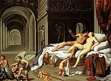 Carlo Saraceni, Marte e Venere