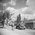 Verkeersdrukte op de oude straatweg van Haifa naar Tel Aviv, Bestanddeelnr 255-0806.jpg