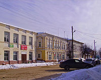 Vetluga. Heritage housing at Lenin Street beginning.jpg