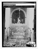 Via Dolorosa, beginning at St. Stephen's Gate. Chapel of Ecce Homo, interior LOC matpc.11763.jpg
