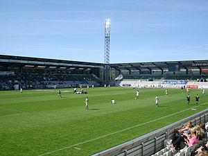 Viborg Stadium - Image: Viborg Stadion 1