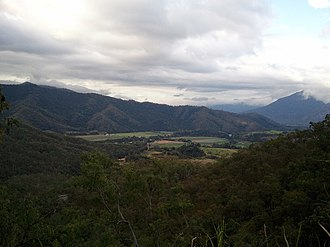Gillies Range - View from the Eastern side of the Gillies Range