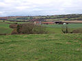 View across the fields to Grasshill House - geograph.org.uk - 622194.jpg