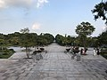 View in front of east entrance of Yoshinogari Historical Park.jpg