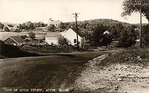 Acton, Maine - Acton Corner c. 1920