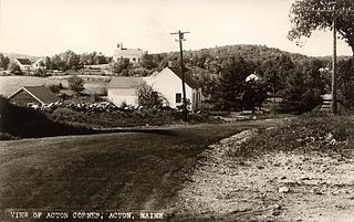 Acton, Maine Town in Maine, United States