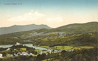 Campton, New Hampshire - Image: View of Campton Village, NH
