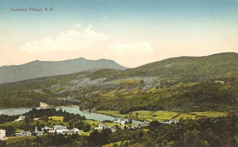 View of Campton Village, NH
