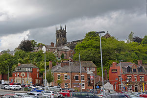 Macclesfield - Macclesfield as viewed from the railway station