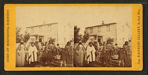"Shakopee, Minnesota - The yard of ""Col. Murphy's near Shakopee"""