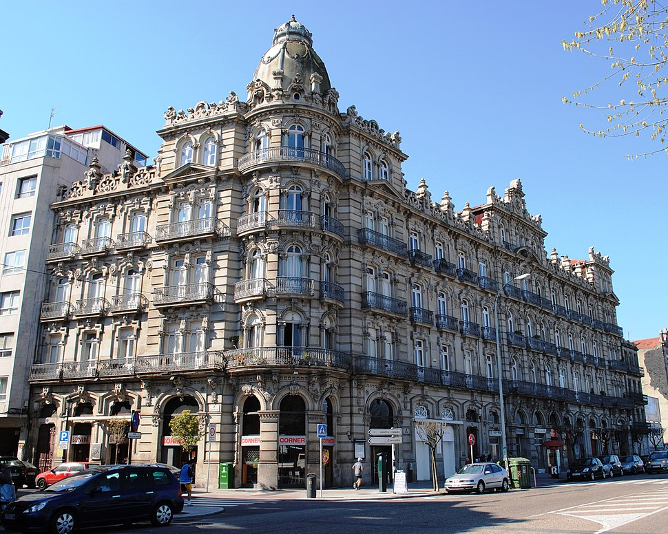 Vigo, Edificio Bonín