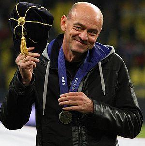 Viktor Onopko - Honored by UEFA in 2011