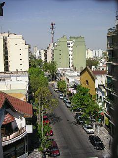 Villa General Mitre Barrio in Buenos Aires, Argentina