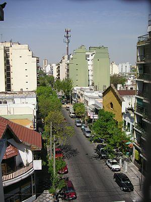 Villa General Mitre - José Artigas Street