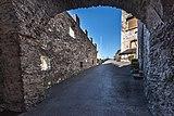 Villach Landskron Schlossbergweg 30 Burgruine Torturm Innenansicht 25102018 5168.jpg