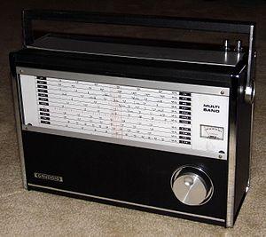 Koyo Electronics Corporation Limited - Image: Vintage Grundig Multi Band Radio, Model TR 807. 11 Bands, Made In Japan (13254538374)