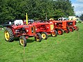 Vintage tractors, 109th Poynton Show - geograph.org.uk - 1466838.jpg
