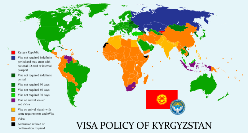 Visa policy of Kyrgyzstan Wikipedia