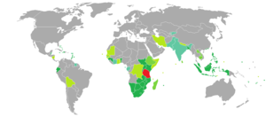 Tanzanian passport - Image: Visa requirements for Tanzanian citizens