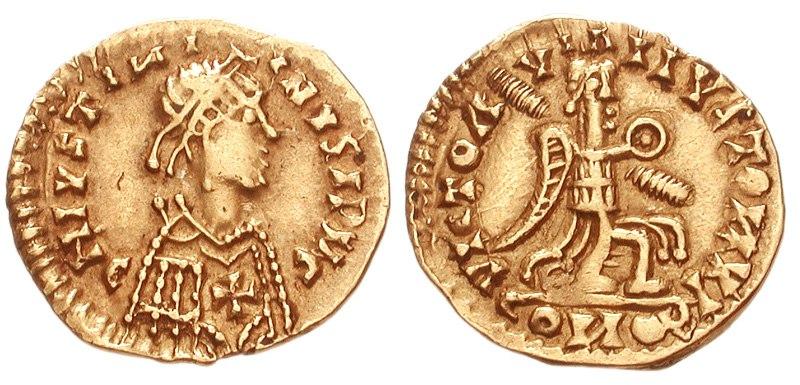 Visigoths tremissis 6 century 823177