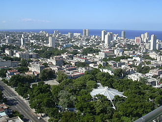 Vedado - Vedado from the Hotel Habana Libre