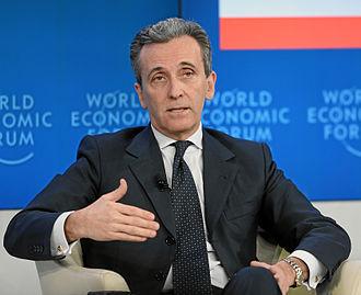 Vittorio Grilli - Grilli during the WEF 2013