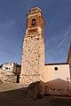 Vivel del Río Martín, Iglesia parrroquial, torre, 01.jpg