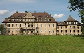 Vollrathsruhe - The schloss