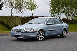 Volvo S80 - 2002 Volvo S80 (UK)