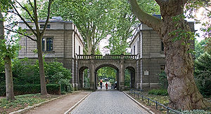 Charles, Count Alten - The von-Alten-garden in Hanover on the grounds of his former house