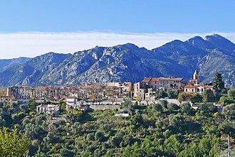 Canton of Menton - View of Castellar