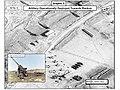Vue satellite au 08 février 2012 - Graphic 5 de 9 - Artillerie opérationnelle déployée en vue de Halbun.jpg