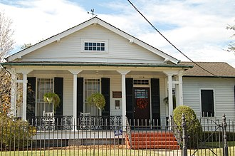 National Register of Historic Places listings in Jefferson Parish, Louisiana - Image: WEST Buchler WM
