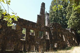 Jack London State Historic Park - Wolf House ruins