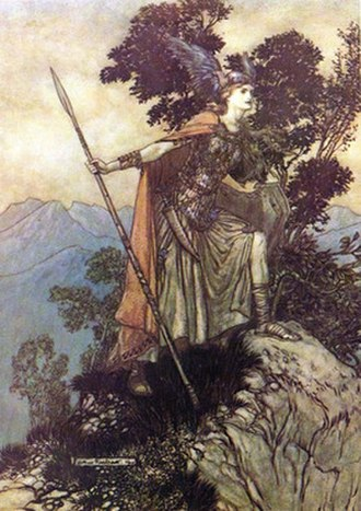 Fate of the Norns - Fate of the Norns was initially published in 1993 with this 1912 illustration by Arthur Rackham as its cover.