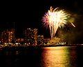 Waikiki Hilton Fireworks (4608142844).jpg