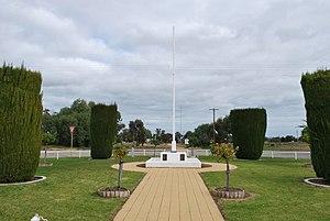 Wakool - Image: Wakool War Memorial
