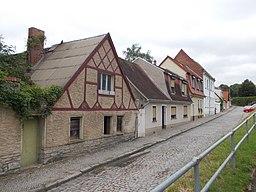 Staßfurter Straße in Bernburg