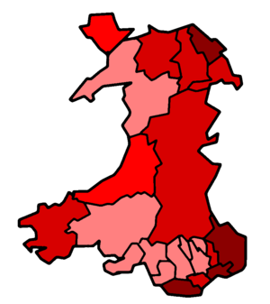 Welsh devolution referendum, 1997 - Image: Wales Ref 97No Vote