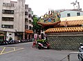 Wall of a temple in North District Taichung 01.jpg