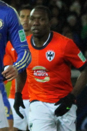 Walter Ayoví - Ayoví at the 2012 FIFA Club World Cup for CF Monterrey
