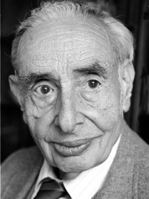 Walter M. Elsasser - Elsasser in 1989