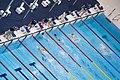 Wang Jingang winning 2012 Summer Paralympics – Men's 50 metre butterfly S7 heat 2.jpg