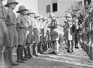 William Platt - William Platt inspecting troops in World War II