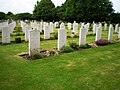 War graves in Bassingbourn Cemetery - geograph.org.uk - 1349359.jpg