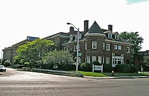Warren–Prentis Historic District - Corner of Second and Hancock